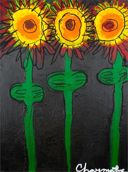 Wildfire Sunflowers