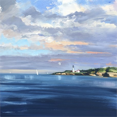"Craig Mooney | Leeward Light | Oil | 30"" X 30"" 
