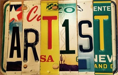 Lost License Plate - Artist