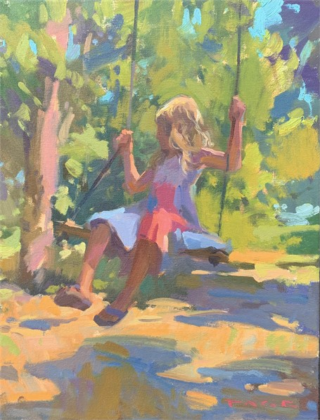 Audrey's Island Swing