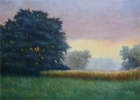 "Christopher Castelli | Meadow's Edge | Oil on Linen | 16"" X 20"" 