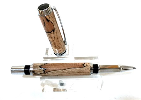 Rollerball Pen - Spalted Maple