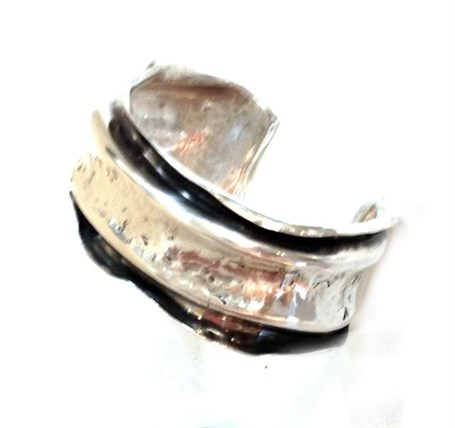 Bracelet - Silver Cuff (2232)