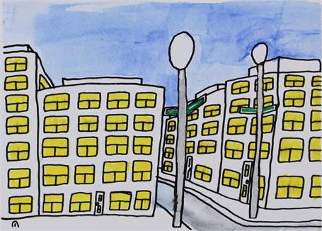 Suburban Building