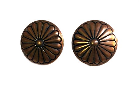 Earrings - Concho Assorted Copper