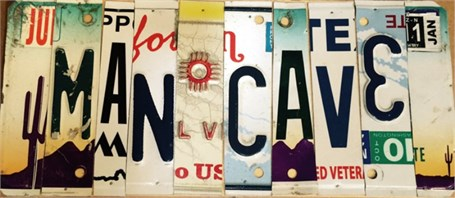 Lost License Plate - Man Cave
