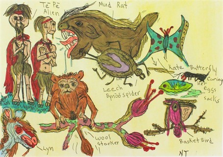 Aliens and Humanoids from Other Worlds
