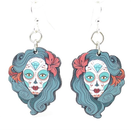 Earrings - La Calavera Catrina 1530