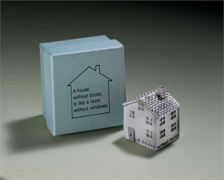 Paperweight - A House Without Books Is Like A Room Without Windows