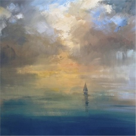 "Craig Mooney | Fantastic Voyage | Oil | 40"" X 40"" 