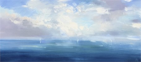 "Craig Mooney | Lost Horizon | Oil | 17.5"" X 36"" 