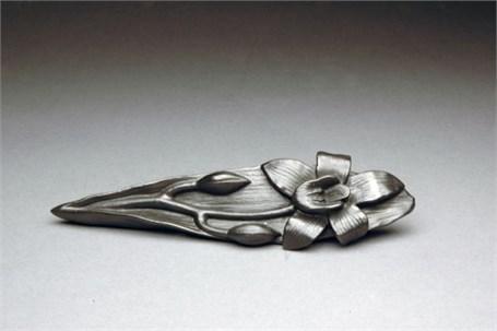 Graphite Sculpture - Orchid