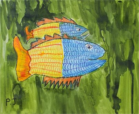 Fish in Underwater Wilderness