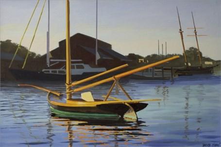"William B. Hoyt | Study of Annie | Oil | 10"" X 15"" | Sold"