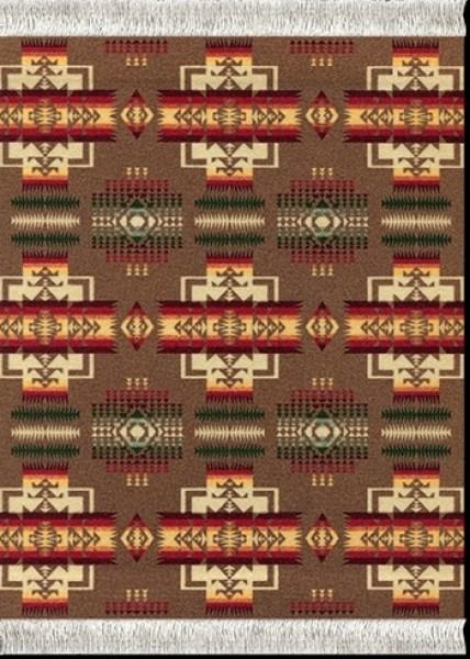 Mouse Rug - Khaki Chief Joseph ( Mouse Pad)