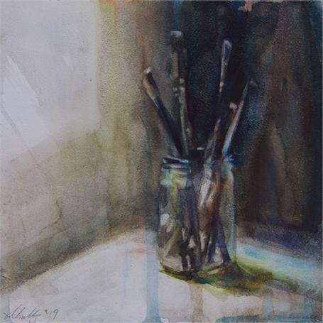 Brushes in Studio