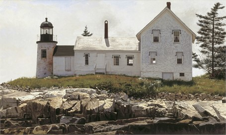 Mark Island Light 9 x 15