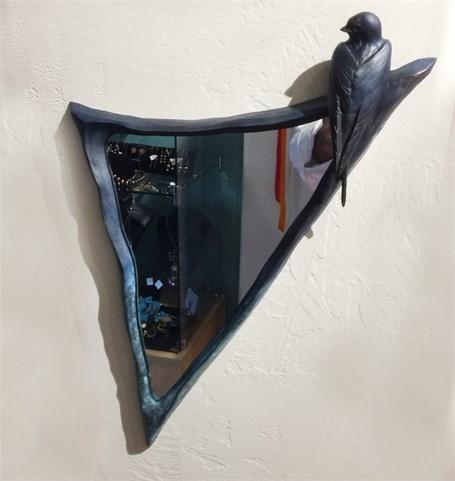 Mirror - Swallow In Bronze
