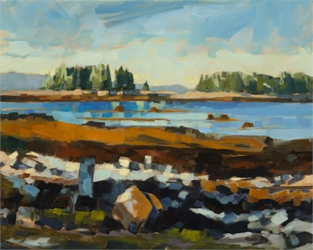 "Philip Frey | Tidal Zone II | Oil | 16"" X 20"" 