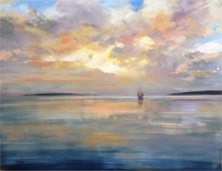 "Craig Mooney | Sailor's Delight II | Oil | 48"" X 60"" 