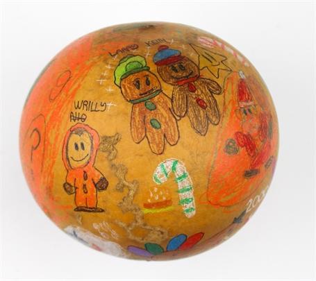 A Halloween Christmas (gourd)