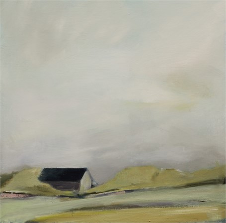 "Ingunn Milla Joergensen | Homestead #2 | Oil on Canvas | 20"" X 20"" 