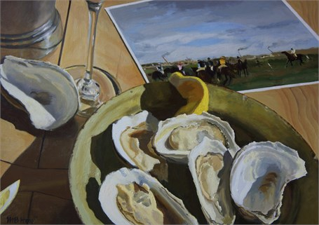 Oysters and Degas