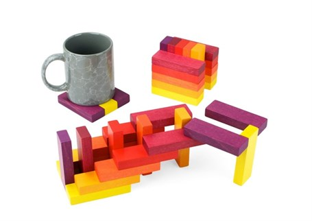 Playable Art Coasters - Sun