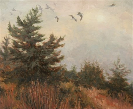"Abbie Williams | Follow the Wind | Oil | 14"" X 18"" 