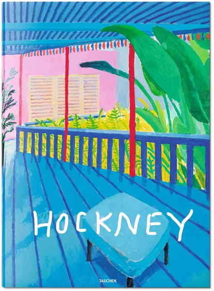 David Hockney TASCHEN Book at Zane Bennett