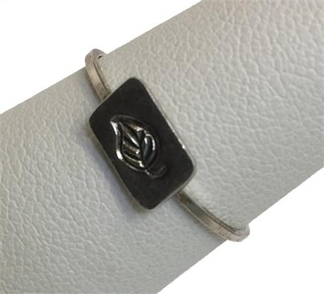 Ring - Stamped Leaf