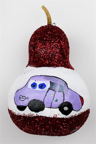 A Cars Christmas Gourd (ornament)