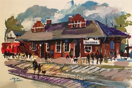 Marietta Train Depot