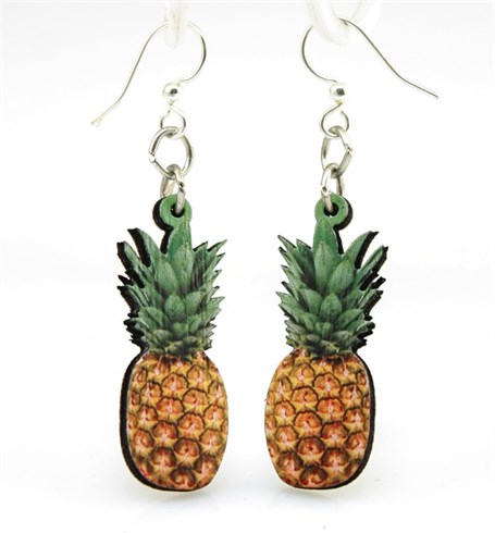 Earrings - Pineapple  1523