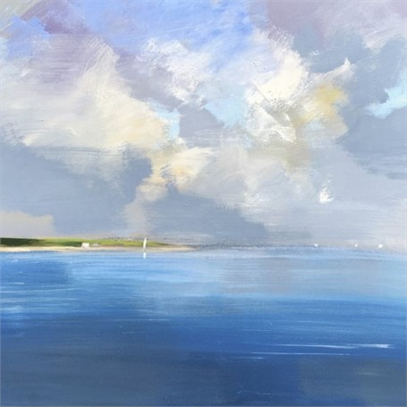 "Craig Mooney | Ocean Squall | Oil | 30"" X 30"" 