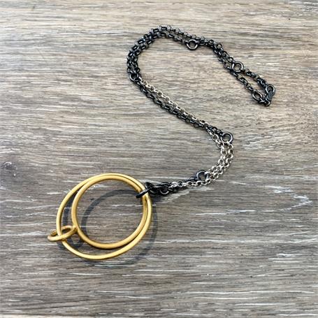 Three Circles on Chain