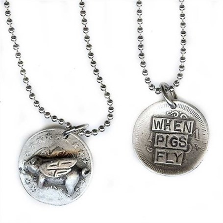 Pendant - When Pigs Fly