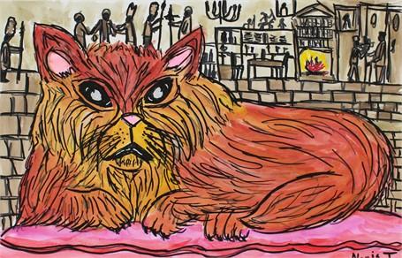 Royal Family Cat