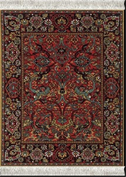 Coaster - Floral Arabesque Set of 4