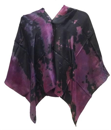 Poncho - Reverse Shibori