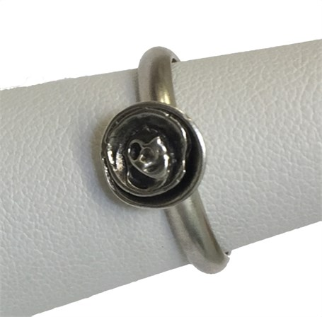 Ring - Stamped Calavera