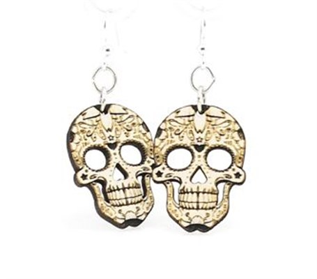 Earrings - Blossom Sugar Skulls 1499