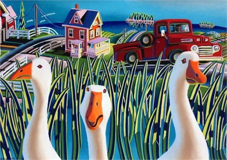 Naught Geese 13 x 20