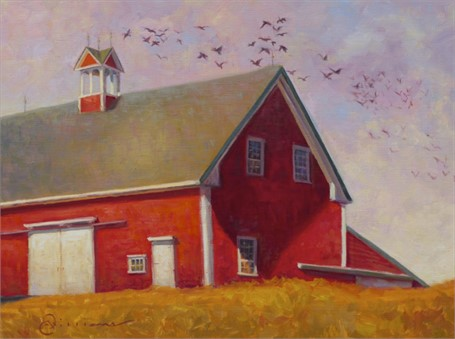 "Abbie Williams | Moody's Barn | Oil | 18"" X 24"" 