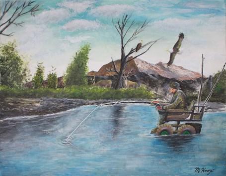 Fisherman's Paradise (FRAMED)