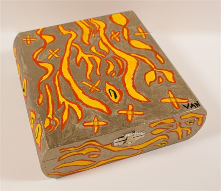 The Fire of Flames (cigar box)