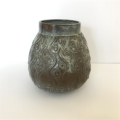 "Richard Winslow | Medium Vase | Ceramic | 8.5"" X 8"" 