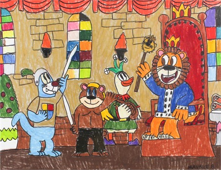 Legend Bear and King Luaniey