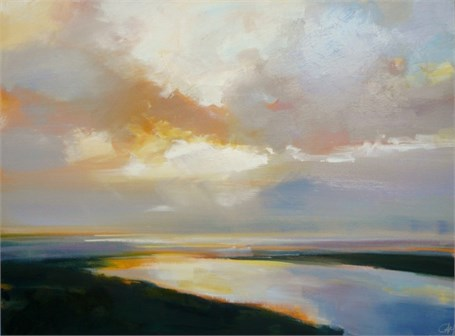 "Craig Mooney | Quiet Tide | Oil | 30"" X 40"" 