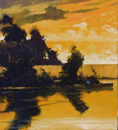 River, Twilight